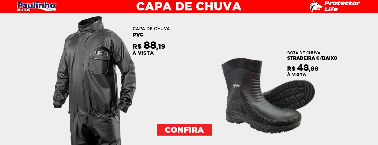 Banner Home Principal   Capa de Chuva e Bota Protector life