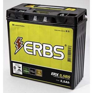 BATERIA ERBS ETX5.5BS (YB12N553B / YTX6LBS) SELADA YBR125 / RD / RDZ / RD 350 / FACTOR ATE 2010