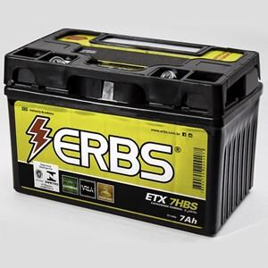 BATERIA ERBS ETX7HBS (YTX7ABS) SELADA BURGMAN 125 / SMART / CRZ150 / PRIMA150 / MIRAGE150 / NINJA 250 / APACHE150