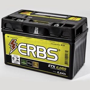 BATERIA ERBS ETX8.6BS (YTZ10S) SELADA CBR 600 RR 2001-06 HORNET 2008-11 / CBR 900 RR YAMAHA YTZ R1 2004-07 / YZF-R6 2006-07