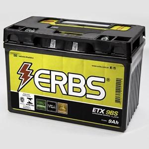 BATERIA ERBS ETX9BS (YTX9BS / YTZ12ABS / YTZ12S / YTZ14S) SELADA CB500 / XTE600 / XJ6 99 / SHADOW 600 / MIRAGE 250 09 / COMET 250 / BURGMAN 400