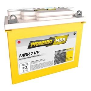 BATERIA PIONEIRO YB7BB (MBR7-VP) SELADA CBX 200 / NX150 / 200 / XR 200 / SAHARA / TDM / XT 225 / NEO