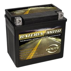 BATERIA ROUTE YB5LB (YTX6LBBS) SELADA CRYPTON / XTZ 125 / MVK FOX / HUNTER 90 / 100 / DAFRA ZIG 100