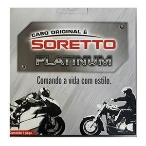 CABO HONDA NX 700 X / XA 2013/14 EMBREAGEM (SORETTO PLATINUM 40003)