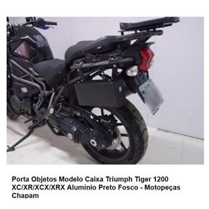 CAIXA DE FERRAMENTAS CHAPAM TIGER 1200 XC/XR/XCX/XRX PRETA