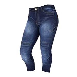 Calça Feminina Kustom ART 010 com Proteção Jeans Lavado
