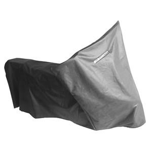 Capa Cobrir Moto MAX Racing PVC Termica Preta Grande XRE 300 / CB 500 / CBR 600 F / Falcon 400 / Tornado 250 / CB 400 / 450 / NX 350