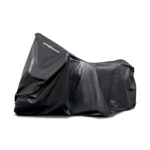 Capa Moto Pantaneiro PVC C/ Feltro Preta