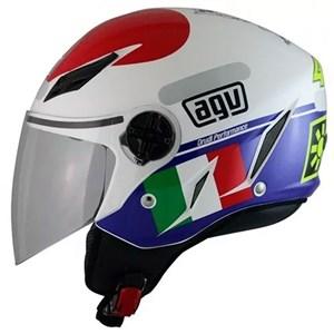 Capacete AGV Blade Heart Valentino Rossi Aberto