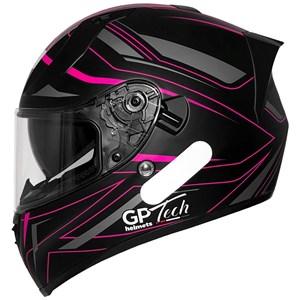 Capacete Feminino GP TECH V128 Ride SV Viseira Solar Fosco