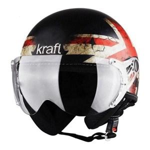 Capacete KRAFT PLUS Vintage Inglaterra Fosco