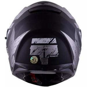 Capacete LS2 FF320 SV Stream Hunter Fosco Titanium