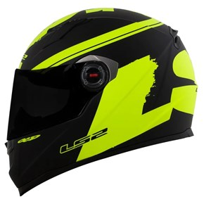 Capacete LS2 FF358 Fluo HIGH Visibility Fosco
