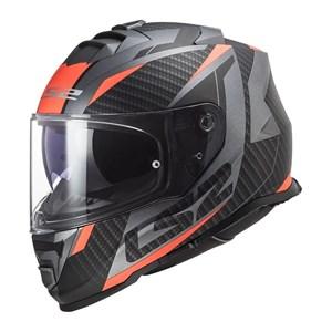 Capacete LS2 STORM FF800 Racer Fosco