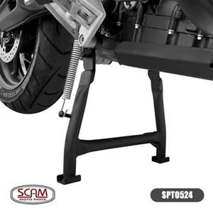 CAVALETE CENTRAL TRIUMPH TIGER 900 2020- PRETO (SCAM) SOMENTE P/ RODA RAIADA