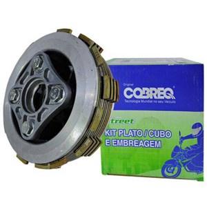 KIT EMBREAGEM COMPLETA COBREQ (PLATO / CUBO / DISCOS) TWISTER CBX 250 / TORNADO XR 250