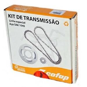KIT TRANSMISSÃO RELAÇÃO COFAP TITAN 160 / FAN 160 (410013)