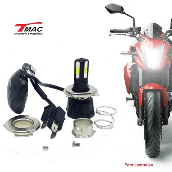 LAMPADA FAROL 4 LED C/ REATOR H7 (TMAC)