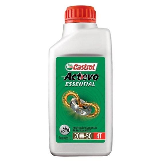 OLEO CASTROL ACTEVO ESSENTIAL 4T 20W50 1 LITRO