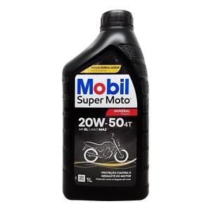 OLEO MOBIL 4T 20W50 MINERAL LITRO
