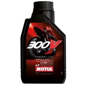 OLEO MOTUL 300V 4T 15W50 100% SINTETICO 1 LITRO