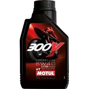 OLEO MOTUL 300V 4T 5W40 100% SINTETICO 1 LITRO