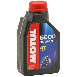 OLEO MOTUL 5000 4T 10W40 SJ SEMI SINTETICO 1 LITRO