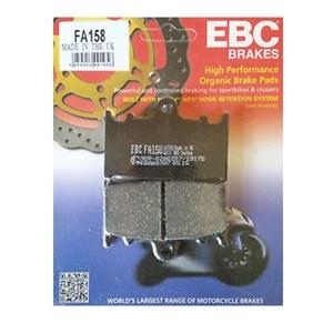 PASTILHA FREIO EBC FA158 KAWASAKI VERSYS1000 15(D)SUZUKI GSX650 08/10(D) GSF1250 BANDIT 07/12(D)