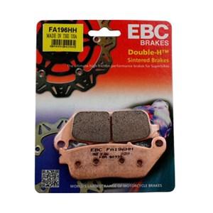 PASTILHA FREIO EBC FA196HH CB500 ABS / FA/XA/RA C/ABS 13/14 (D) CB600 HORNET S/ ABS 05/15 (D) SHADOW600 / 750 98/15 (D) BOULEVARD1500 13/15 (D)