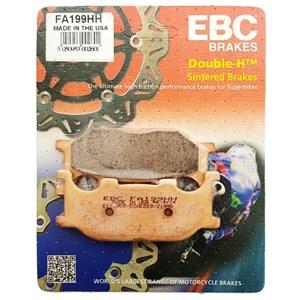 PASTILHA FREIO EBC FA199HH VIRAGO 535 96 END / DRAG STAR 650 / VIRAGO 1100 DIANT / MIDNIGHT DIANT