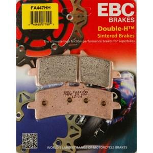 PASTILHA FREIO EBC FA447HH CBR1000 RR ABS 2014 (D) SUZUKI GSXR 600 / 750 / 1000/ 11 / 15 (D) GSX-S 1000 15 (D) GSX1300 13/15 (D)
