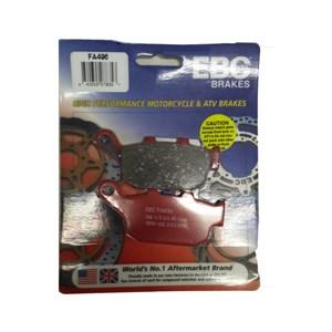 PASTILHA FREIO EBC FA496HH TRASEIRA CB 300 2015 COM E SEM/ ABS / CBR 250 11/14 COM E SEM/ ABS / VERSYS 650 2015 /