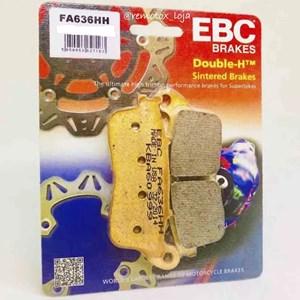 PASTILHA FREIO EBC FA636HH VT600 SHADOW 88/93/ CAGIVA 750 / CAGIVA CANYON 500 / 900 DIANTEIRA