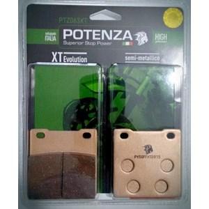 PASTILHA FREIO POTENZA 063XT GS500E -14 (T) / BANDIT 600 95-04 / BANDIT 1200 00-05 / HAYABUSA 99-07 (T)