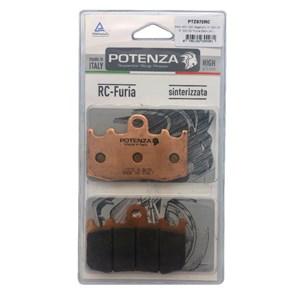 PASTILHA FREIO POTENZA 972RC BMW R 1150GS 2001-04 (D) / R 1200GS 2004-15 (D) / K 1200S 2005-08 / K 1300S 2009-15 (D)