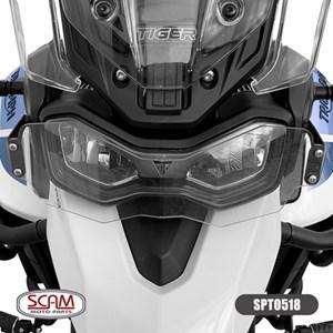 PROTETOR FAROL SCAM TRIUMPH TIGER 900 2020- (POLICARBONATO)
