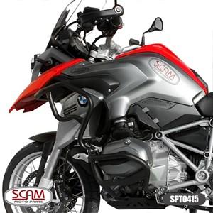 PROTETOR MOTOR E CARENAGEM SCAM BMW R 1200GS 2013- PRETO
