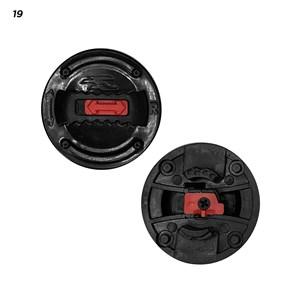 Reparo Capacete Bieffe 3 SPORT (placa Lateral) Polivisor 1136