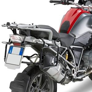 SUPORTE BAU LATERAL BMW R1200 GS 2013 EM DIANTE GIVI PLR5108 MONOKEY ENGATE RAPIDO