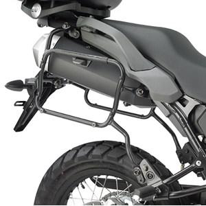 SUPORTE BAU LATERAL TIGER 800 / XC / XR 2011-17 GIVI PLR6409 MONOKEY ENGATE RAPIDO