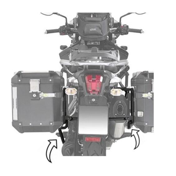 SUPORTE BAU LATERAL TRIUMPH TIGER 1200 EXPLORER GIVI PL6408CAM (OUTBACK)