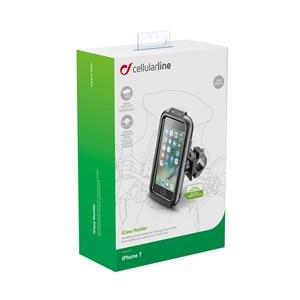 SUPORTE GUIDAO ICASE INTERPHONE IPHONE 7 PLUS PRETO RESISTENTE A AGUA NÃO IMPERMEAVEL